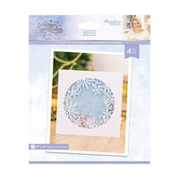 Crafter's Companion - Christmas - Glittering Snowflakes Collection - Metal Dies - Frosted Flurry