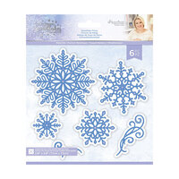 Crafter's Companion - Christmas - Glittering Snowflakes Collection - Metal Dies - Snowflake Flurry