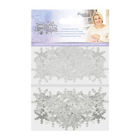 Crafter's Companion - Christmas - Glittering Snowflakes Collection - Snowflake Sequin Pack