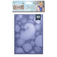 Crafter's Companion - Nautical Collection - 3D Embossing Folder - Seashell Medley