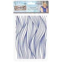 Crafter's Companion - Nautical Collection - Embossing Folder - Ocean Waves