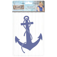 Crafter's Companion - Nautical Collection - Embossing Folder - Ship's Anchor