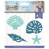 Crafter's Companion - Nautical Collection - Metal Dies - Fancy Shells
