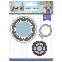 Crafter's Companion - Nautical Collection - Metal Dies - Porthole Windows