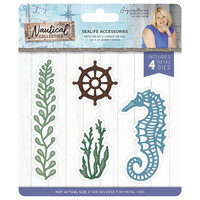Crafter's Companion - Nautical Collection - Metal Dies - Sea Life Accessories