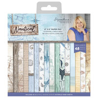 Crafter's Companion - Nautical Collection - 6 x 6 Paper Pad