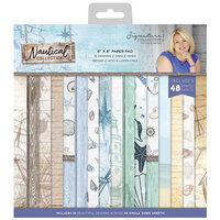 Crafter's Companion - Nautical Collection - 8 x 8 Paper Pad