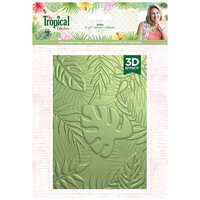 Crafter's Companion - Tropical Collection - 3D Embossing Folder - Aloha