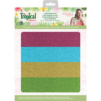 Crafter's Companion - Tropical Collection - Luxury Glitter Card
