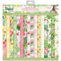 Crafter's Companion - Tropical Collection - 12 x 12 Paper Pad