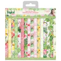 Crafter's Companion - Tropical Collection - 6 x 6 Paper Pad