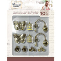 Crafter's Companion - Vintage Diary Collection - Metal Charms