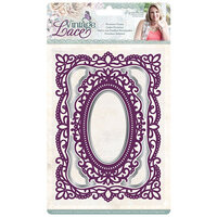Crafter's Companion - Vintage Lace Collection - Cut and Emboss Folder - Frame - Provence