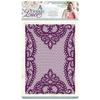 Crafter's Companion - Vintage Lace Collection - Embossing Folder - Venetian Lace