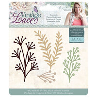 Crafter's Companion - Vintage Lace Collection - Metal Dies - Botanicals