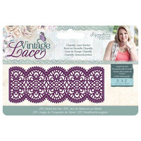 Crafter's Companion - Vintage Lace Collection - Dies - Border - Chantilly Lace