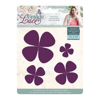 Crafter's Companion - Vintage Lace Collection - Metal Dies - Petite Posies
