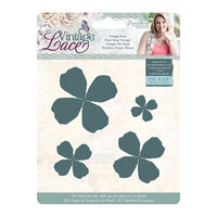 Crafter's Companion - Vintage Lace Collection - Metal Dies - Vintage Rose
