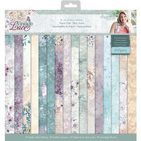 Crafter's Companion - Vintage Lace Collection - 12 x 12 Paper Pad