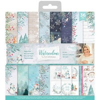 Crafter's Companion - Watercolour Christmas Collection - 12 x 12 Paper Pad