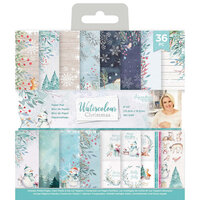 Crafter's Companion - Watercolour Christmas Collection - 6 x 6 Paper Pad