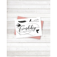 Crafter's Companion - Clear Photopolymer Stamps - Friendship