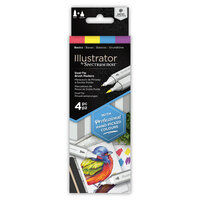 Crafter's Companion - Spectrum Noir - Illustrator Marker Set - Basics