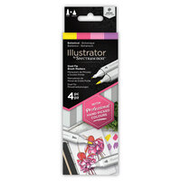 Crafter's Companion - Spectrum Noir - Illustrator Marker Set - Botanical