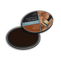 Crafter's Companion - Harmony Ink Pad - Water Reactive - Friar Brown