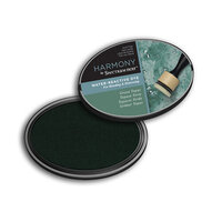 Crafter's Companion - Harmony Ink Pad - Water Reactive - Green Topaz