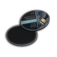 Crafter's Companion - Harmony Ink Pad - Water Reactive - Noir Black
