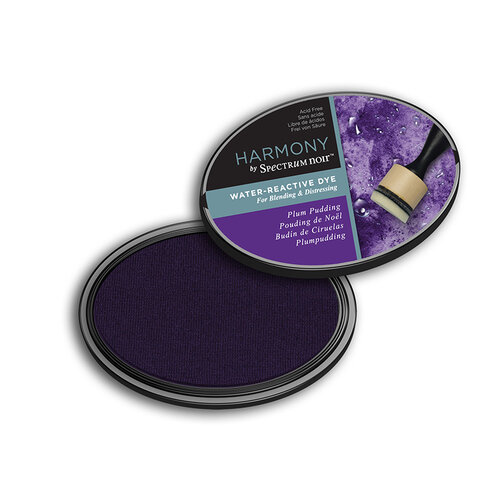 Crafter's Companion - Harmony Ink Pad - Water Reactive - Plum Pudding