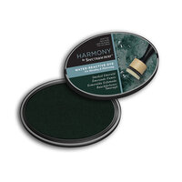 Crafter's Companion - Harmony Ink Pad - Water Reactive - Smoke Emerald