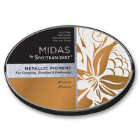 Crafter's Companion - Midas Ink Pad - Metallic - Bronze