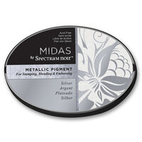 Crafter's Companion - Midas Ink Pad - Metallic - Silver