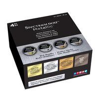 Crafter's Companion - Spectrum Noir - Water Reactive Inks Set - Metallic - Rich Metallics