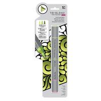 Crafter's Companion - Spectrum Noir - TriBlend Brush Marker - Citrus Green Blend