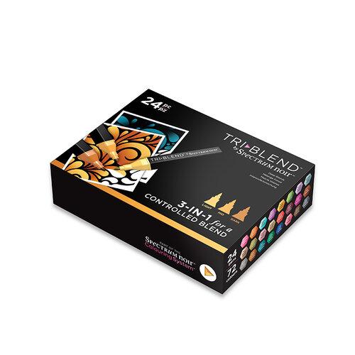 Crafter's Companion - Spectrum Noir - TriBlend Marker Set - Deep Blends
