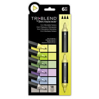 Crafter's Companion - Spectrum Noir - TriBlend Marker Set - Natural Blends