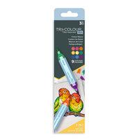 Crafter's Companion - Spectrum Noir - TriColour Aqua Markers - Colour Basics - 3 Pack