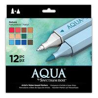 Crafter's Companion - Spectrum Noir - Aqua Markers Set - Nature