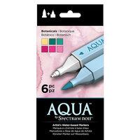 Crafter's Companion - Spectrum Noir - Aqua Markers Set - Botanicals