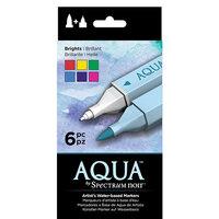Crafter's Companion - Spectrum Noir - Aqua Markers Set - Brights