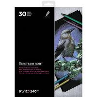 Crafter's Companion - Spectrum Noir - 9 x 12 Premium Paper Pad- Black