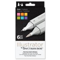 Crafter's Companion - Spectrum Noir - Illustrator Marker Set - Hues