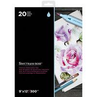 Crafter's Companion - Spectrum Noir - 9 x 12 Premium Paper Pad - Watercolor