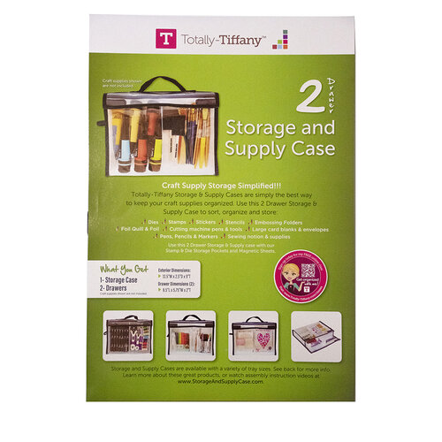 Totally Tiffany - Storage and Supply Case - 2 Drawers