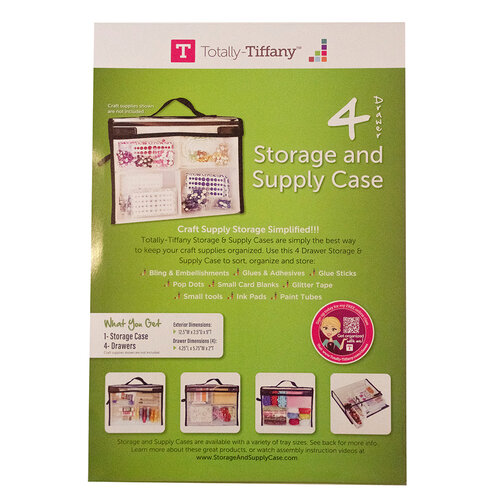 Totally Tiffany - Storage and Supply Case - 4 Drawers