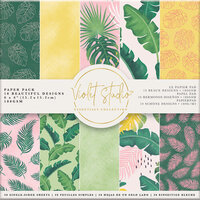Crafter's Companion - Violet Studio Tropical Collection - 6 x 6 Paper Pack