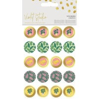 Crafter's Companion - Violet Studio Tropical Collection - Stickers - Mini Stickers